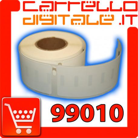 Etichette Compatibili con Dymo 99010 Bixolon Seiko 1 Rotolo