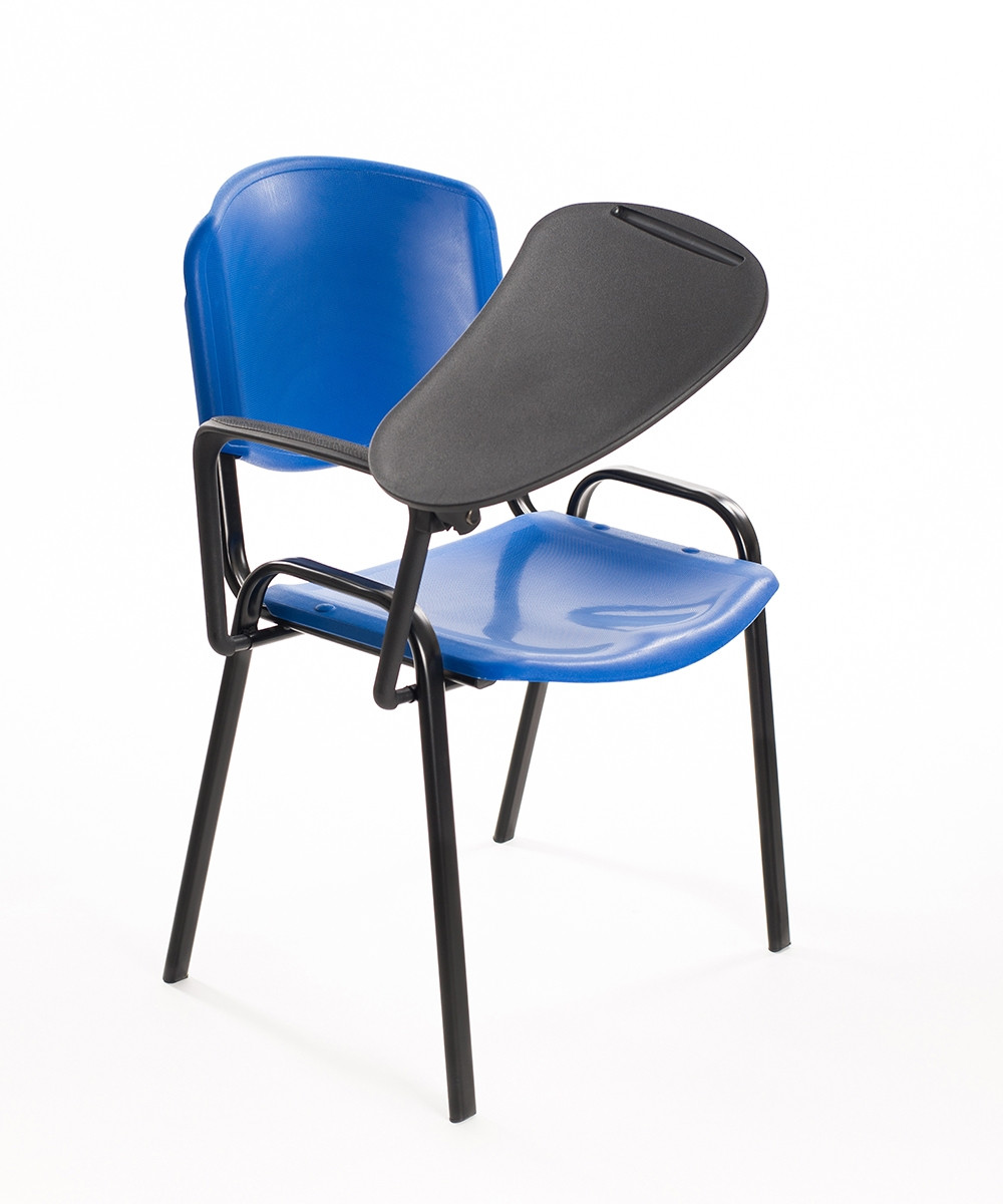 Sedie Convegni con ribaltina in plastica blu | Carrello Digitale