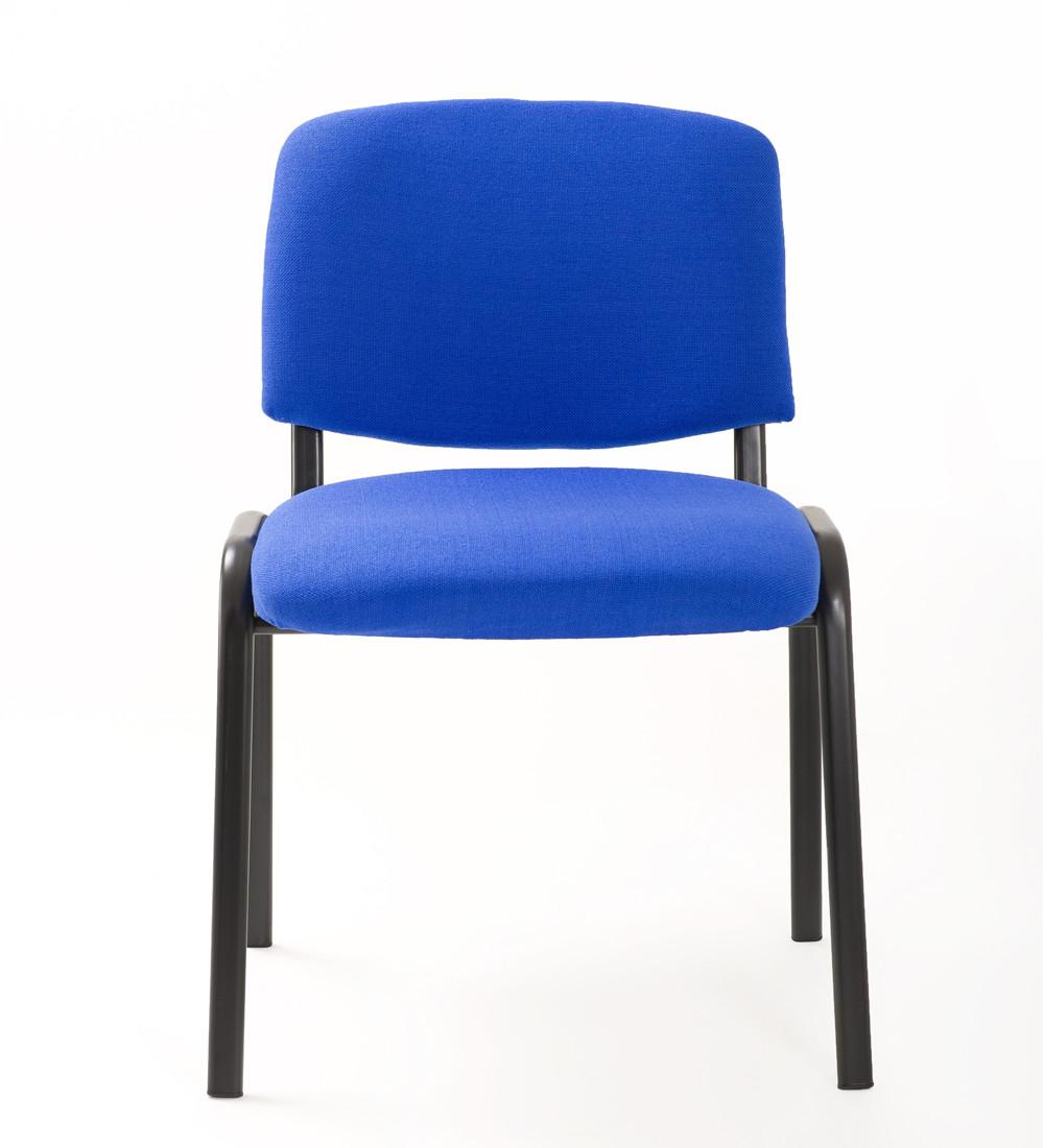 Sedia riunione conferenza in tessuto blu carrello digitale for Ufficio blu