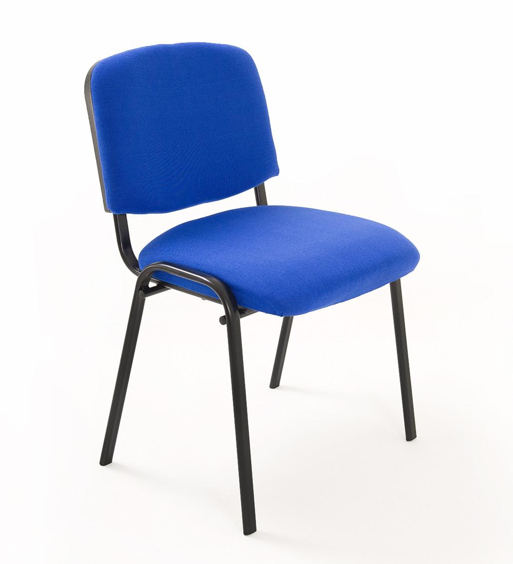 Sedia riunione conferenza in tessuto blu carrello digitale - Sedia sdraio imbottita ikea ...