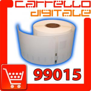 Etichette Compatibili con Dymo 99015 Bixolon Seiko 1 Rotolo