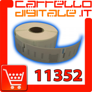 Etichette Compatibili con Dymo 11352 Bixolon Seiko 1 Rotolo