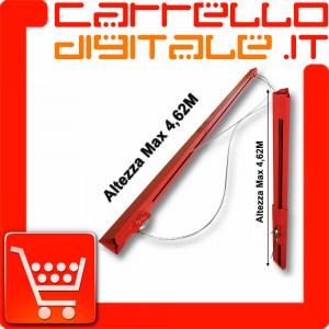 Estensione Prolunga per Carrello Alzalastre per Cartongesso - Alza lastre Carrello Alza solleva pannelli