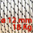 Corda Nautica Diametro 12mm Bobina da 18 Kg
