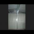 Box in Acciaio Zincato 3.60 x 6.00 m x h2.30 m - 346 KG - 21 metri quadri - BIANCO