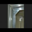 Box in Acciaio Zincato 3.60 x 6.00 m x h2.30 m - 346 KG - 21 metri quadri - VERDE