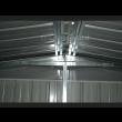 Box in Acciaio Zincato 3.60 x 5.14 m x h2.30 m - 320 KG - 18 metri quadri - BIANCO