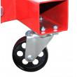 Gru idraulica Pieghevole - gruetta officina per sollevamento motori - 2 Tonnellate