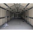 Box in Acciaio Zincato 3.60 x 9.12 m x h3.07 m - 655 KG - 32.9 metri quadri - BEIGE