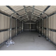 Box in Acciaio Zincato 3.60 x 9.12 m x h3.07 m - 655 KG - 32.9 metri quadri - VERDE