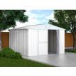 Box in Acciaio Zincato 3.27 x 3.07 m x h2.17 m - 145 KG – 9,4 metri quadri - BIANCO