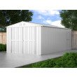 Box in Acciaio Zincato 3.27 x 6.11 m x h2.35 m - 346 KG – 19 metri quadri - BIANCO