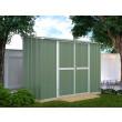 Box in Acciaio Zincato 3.07 x 1.00 m x h1.92 m - 75 KG - 3.07 metri quadri - VERDE