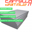 Kit Coibentazione per Box In Acciaio Zincato Casetta da Giardino in Lamiera 6.64 x 7.21 m x h3.72 m