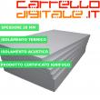 Kit Coibentazione per Box In Acciaio Zincato Casetta da Giardino in Lamiera 3.45 x 1.86 m x h1.92 m