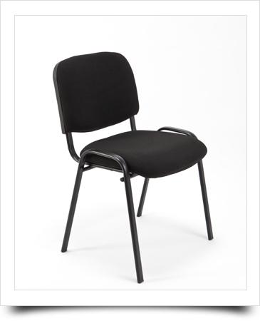 6 sedie sedia d 39 attesa imbottita ideale per ufficio for Sedia per sala d attesa