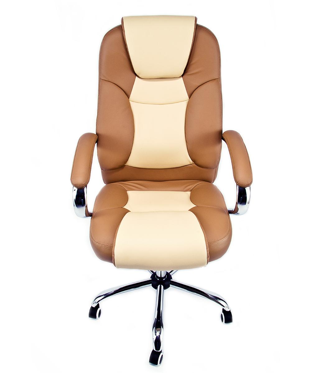 Poltrona ufficio sedia girevole in eco pelle presidenziale for Arredo ufficio presidenziale