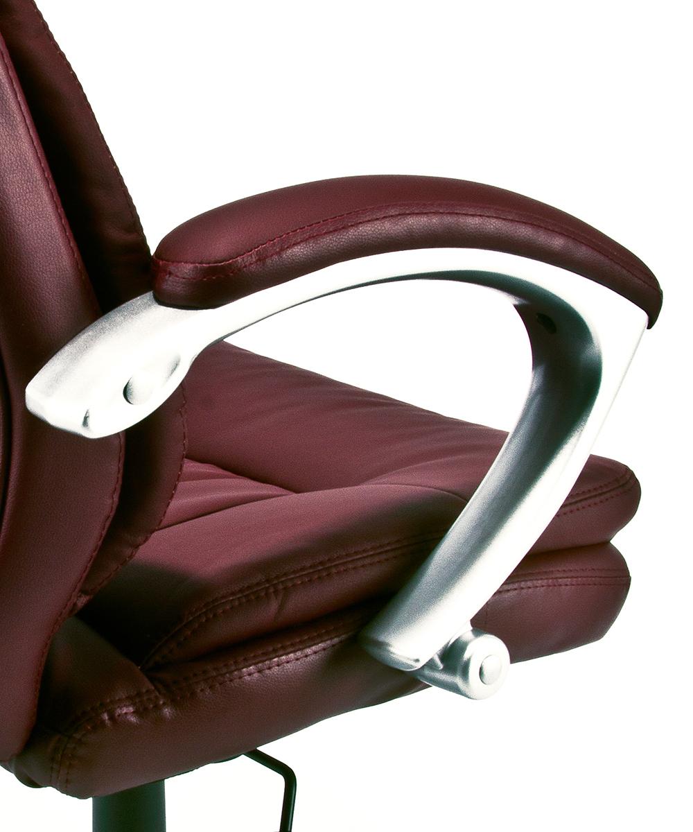 Poltrona ufficio sedia girevole in eco pelle presidenziale for Attrezzi per ufficio