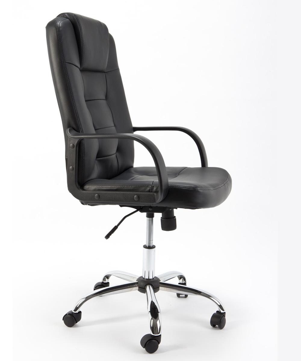 Sedia poltrona imbottita presidenziale ideale per ufficio for Sedute da ufficio